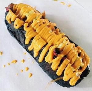 hot dog hitam pengusahasukses