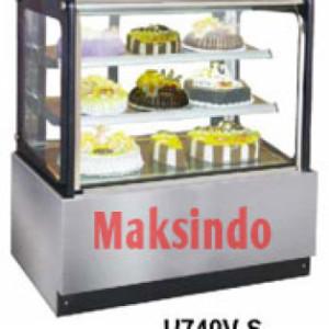 mesin-cake-showcase-pemajang-kue-maksindo