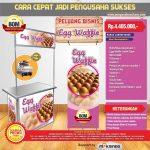 Paket Usaha Egg Waffle Listrik Program BOM