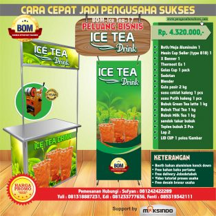 Paket Usaha Ice Tea Drink Program BOM