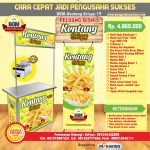 Paket Usaha French Fries Crispy Program BOM