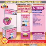 Paket Usaha Cotton Sweet Drinks Program BOM