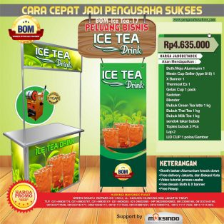 Paket Usaha Ice Tea Java Latte Program BOM