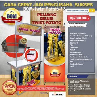 Paket Usaha Twist Potato Program BOM