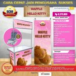 Paket Usaha Waffle Hello Kitty Program BOM