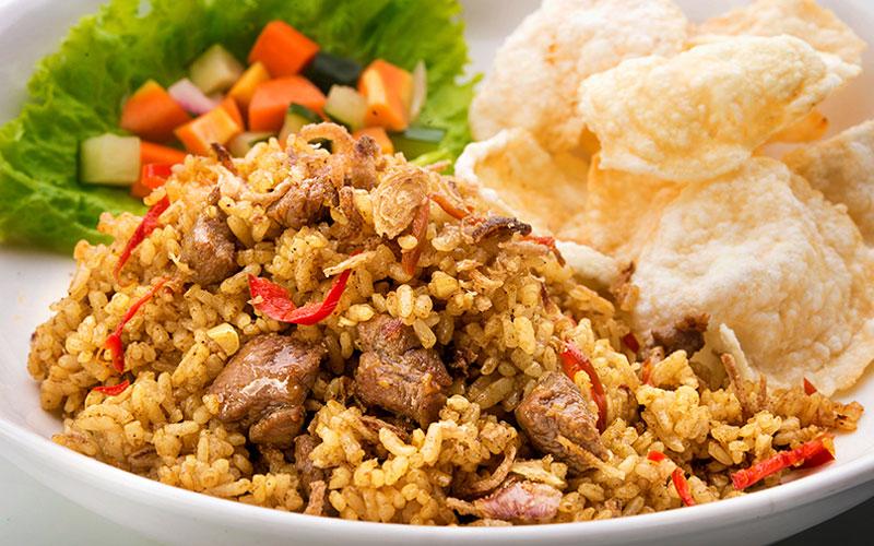 Hasil gambar untuk nasi goreng kambing