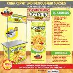 Paket Usaha French Fries Crispy Program BOM