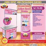 Paket Usaha Cotton Sweet Drinks Program BOM